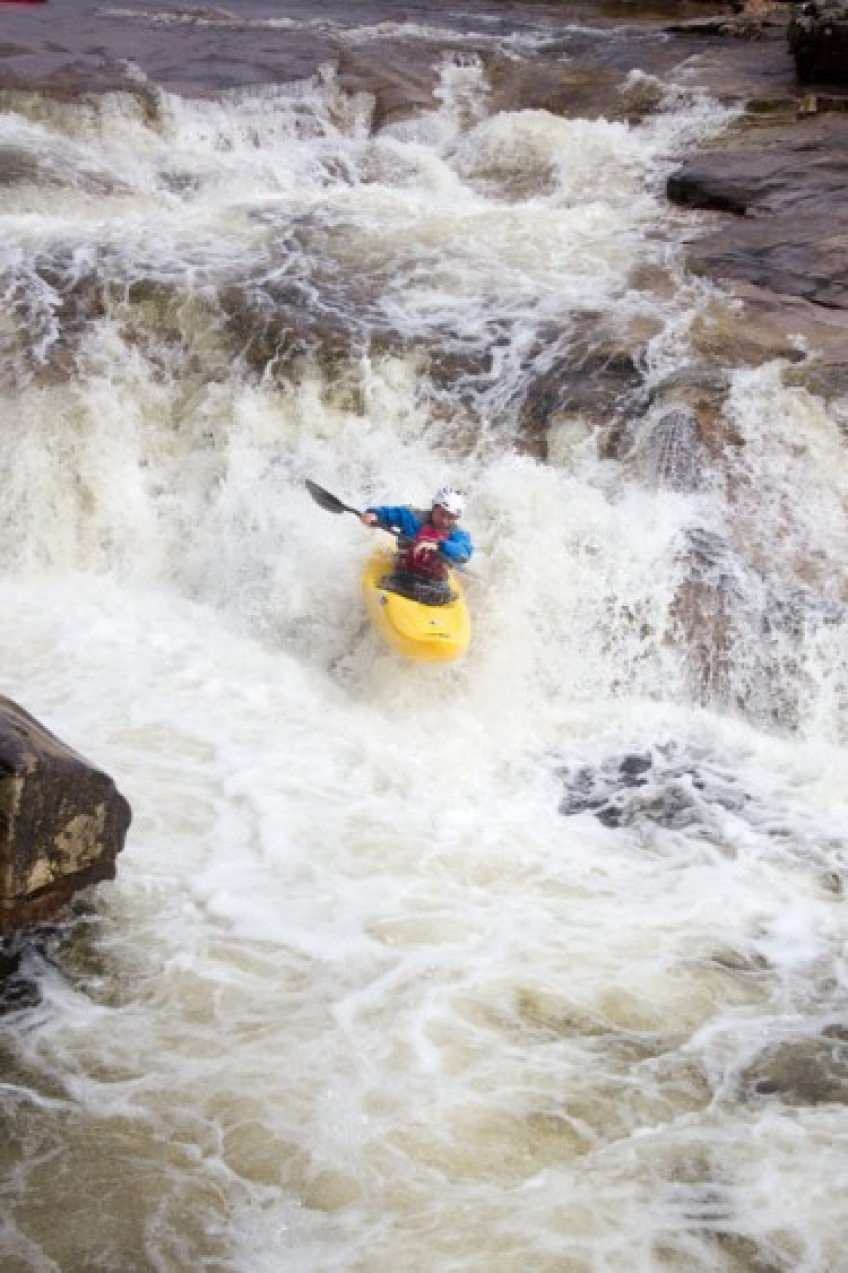 Winter with New Wave Kayaking