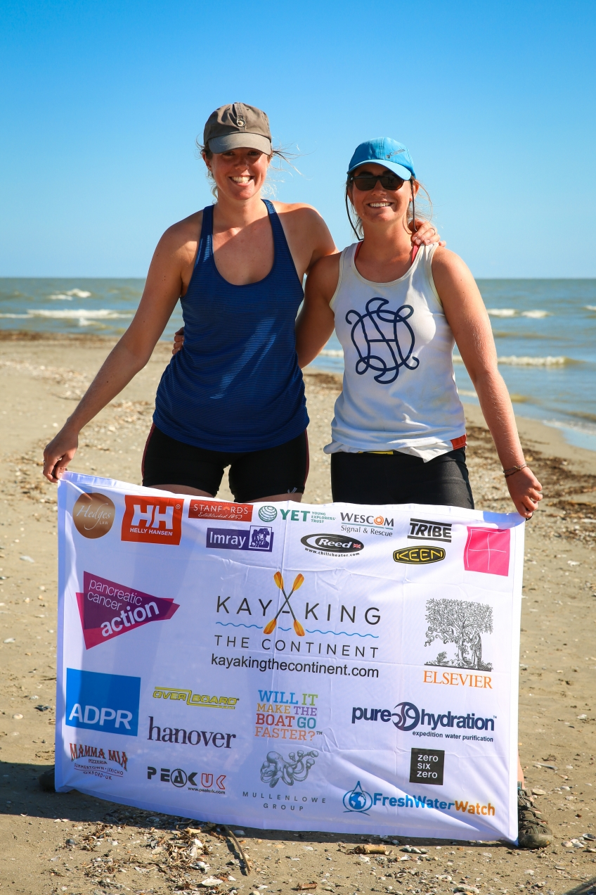 Kate and Anna make it to the Black Sea....