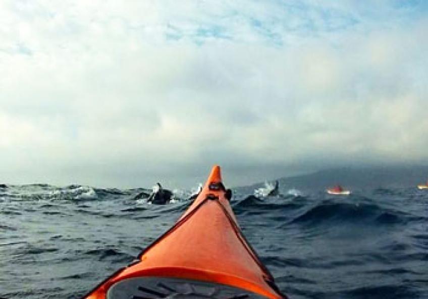 Europe to Africa by kayak...