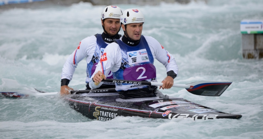 Canoe Slalom World Championships. London. 2015. Day 1.