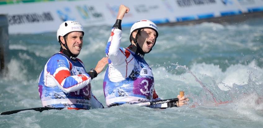 Canoe Slalom World Championships. London. 2015. Day 4