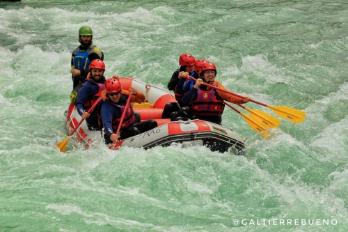 Rafting on Soca River in 2019