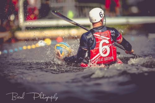 British canoe polo take Portugal by storm