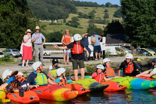 Paddle Peak inspires 240 local youngsters at the Cromford Mill Outdoors Weekend.