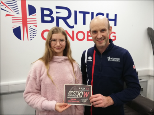 Best junior newcomers pick up Peak UK award