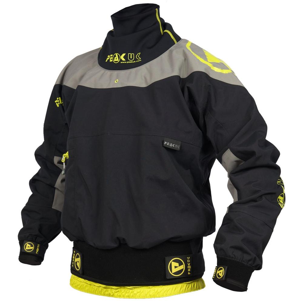 Symbol Of The Brand Peak Uk Pro Long Jacket Orange Sporting Goods