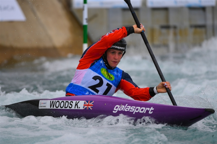Stellar Start for GB at Home Canoe Slalom World Cup