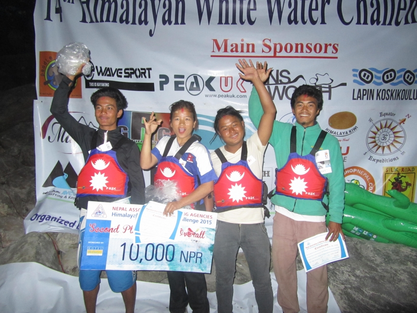 The Himalayan Whitewater Challenge continues...