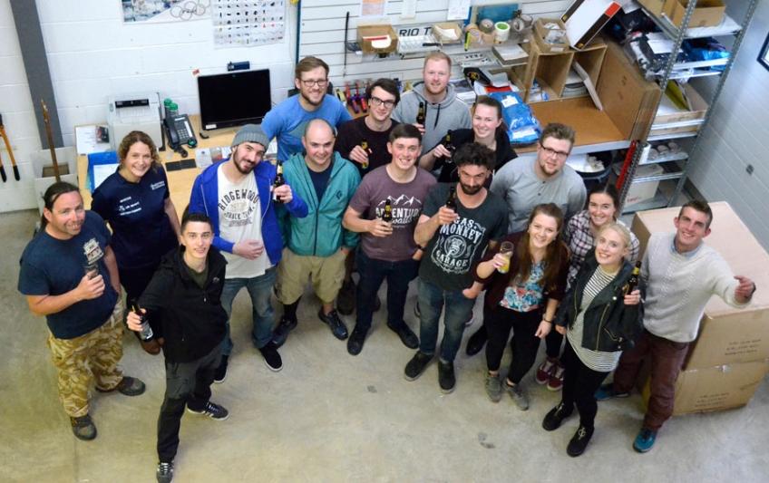 Hallams factory tour, with a surprise