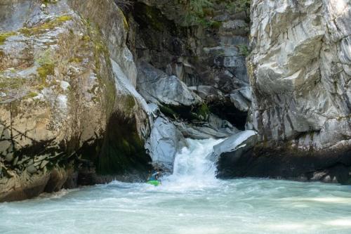 Upper reaches of the Squamish?