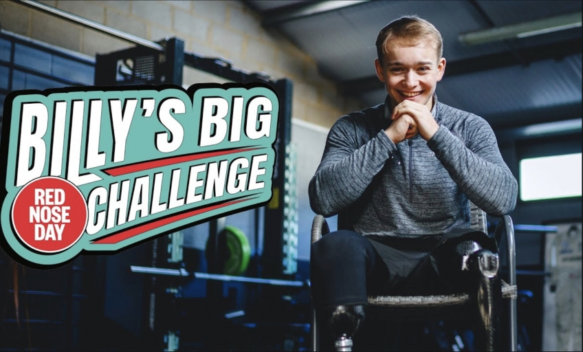 Billy's Big Red Nose Day Challenge